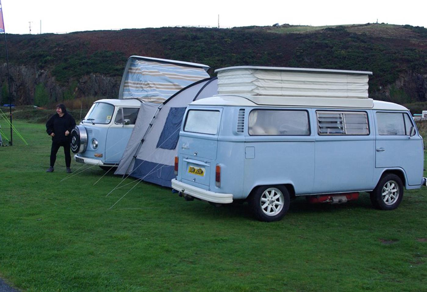 VW Campervan Hire North West