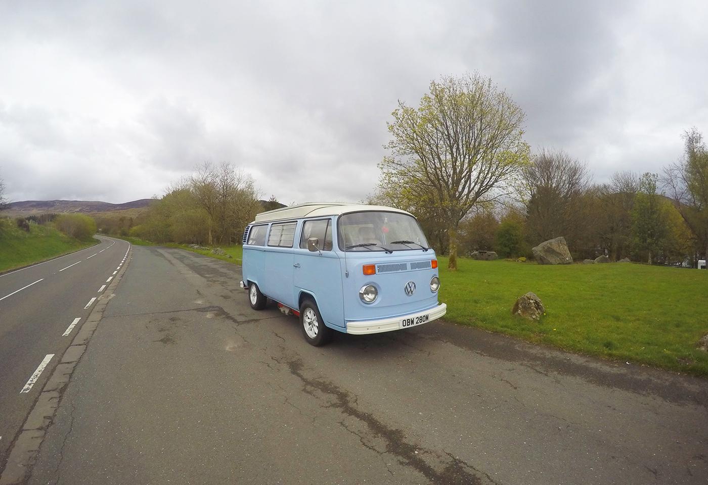 VW Campervan Hire Wales