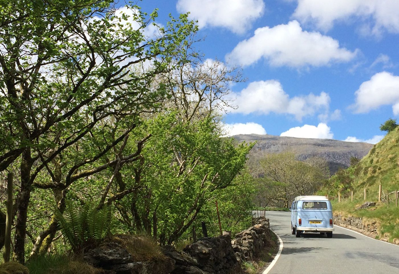 VW Campervan Hire Wales | Emily