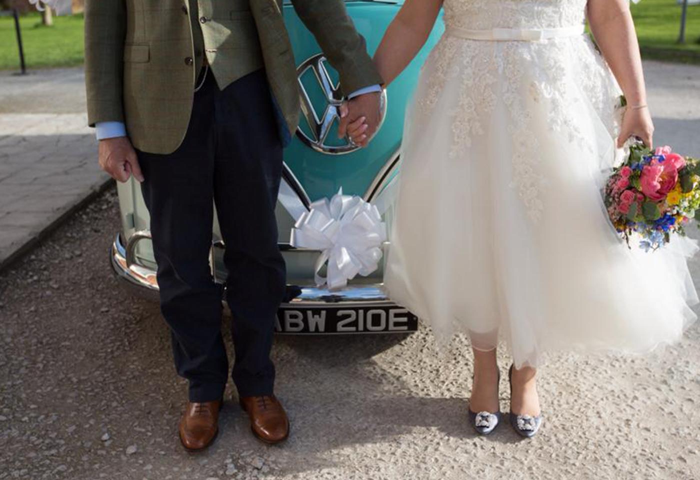 VW Campervan Hire North Wales Weddings