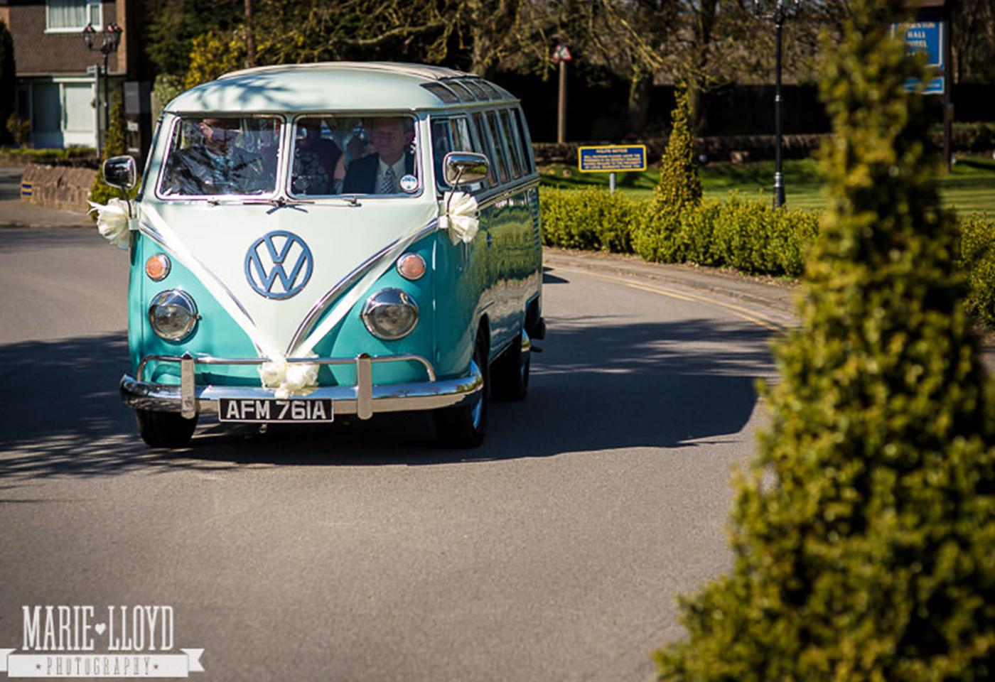 Wedding VW Campervan Hire North West