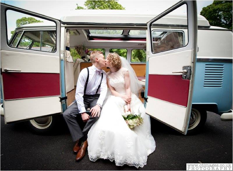 Wedding VW Campervan Hire North Wales