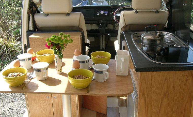 VW Campervan Hire North West and North Wales   Jessie