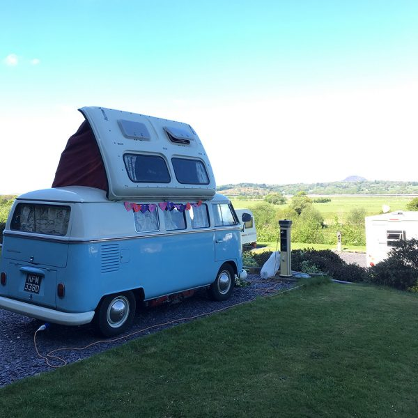 Hire Camper Van: VW Campervan Wedding Hire North West