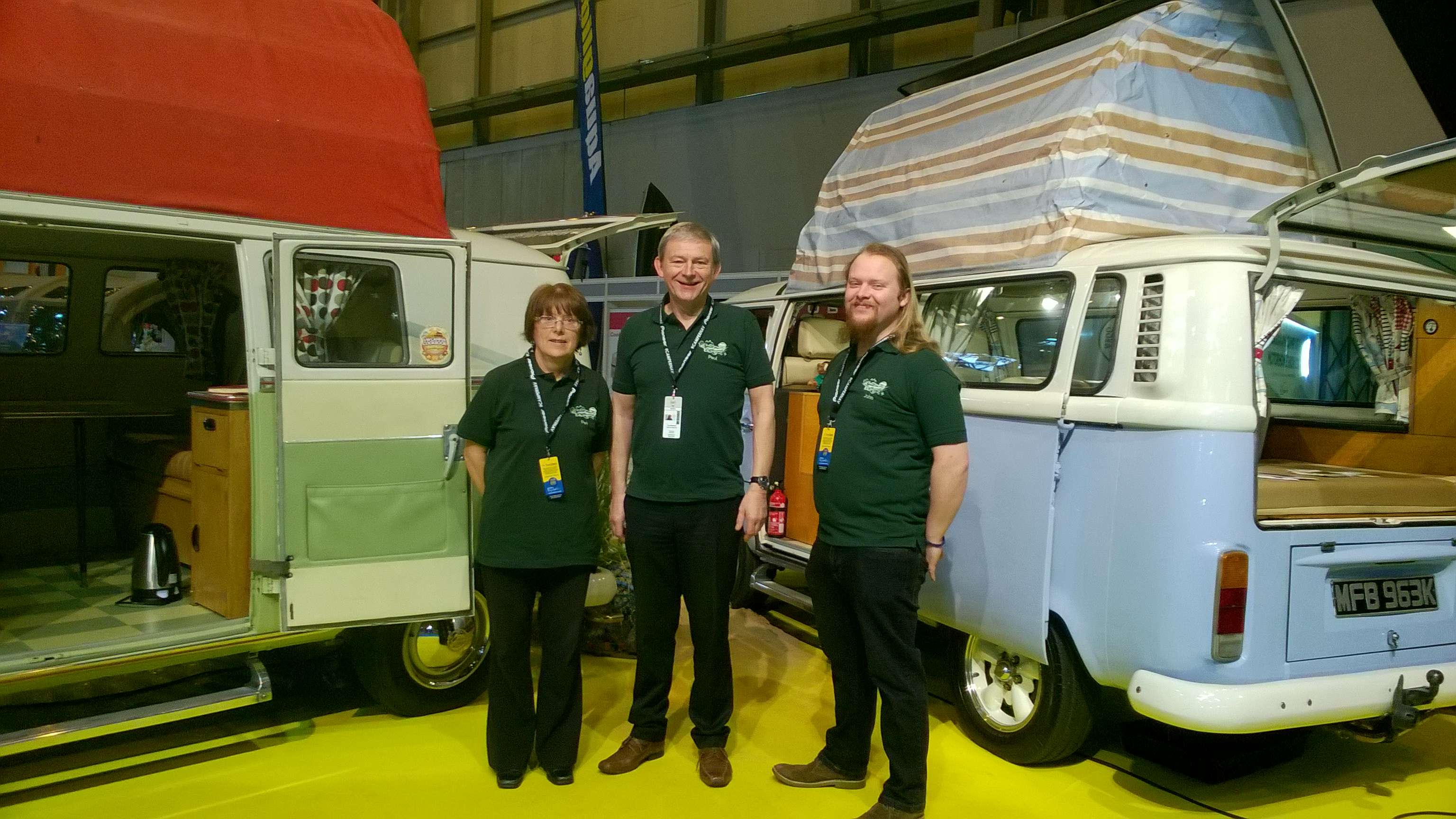 Split the Difference at National Camping, Caravanning and Mobile Home Show