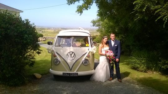 VW Campervan Wedding Hire Gallery North Wales & North West