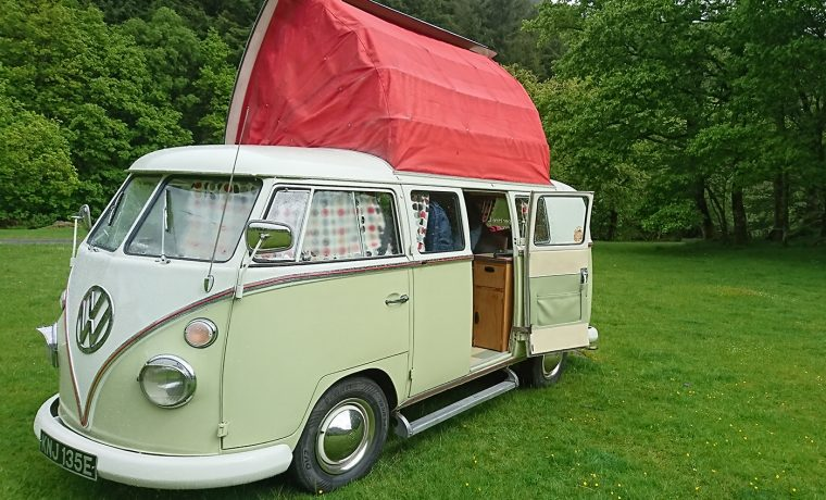 VW Campervan Hire North West
