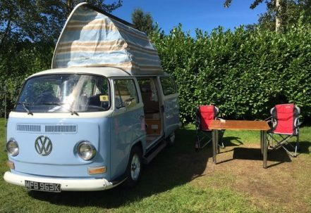 Molly VW Campervan Hire North West