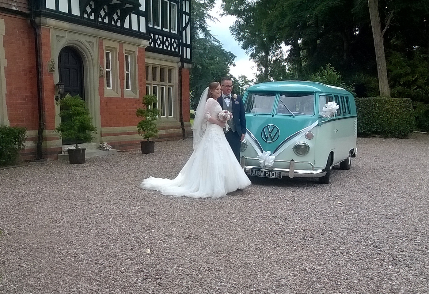Wedding VW Campervan Hire North West